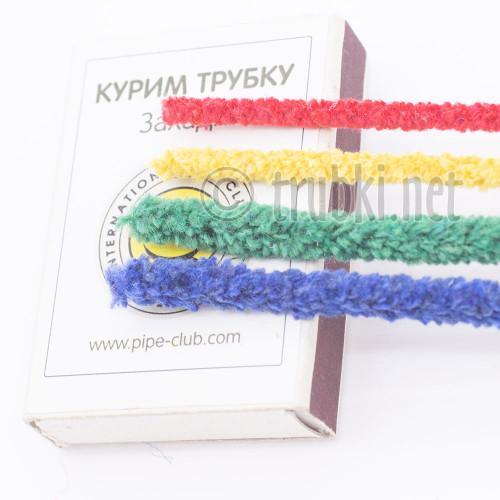 Ерши Atomic, ёршики мягкие конические цветные, хлопок, 100 шт