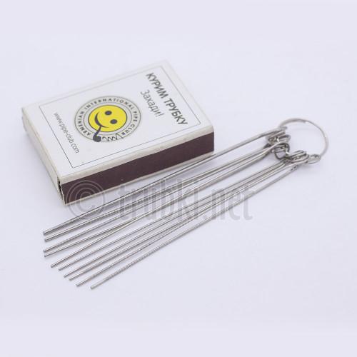 Набор струн для чистки курительных трубок. 10 шт.
