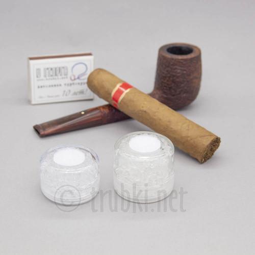 Увлажнитель трубочного табака и сигар. Бочонок большой