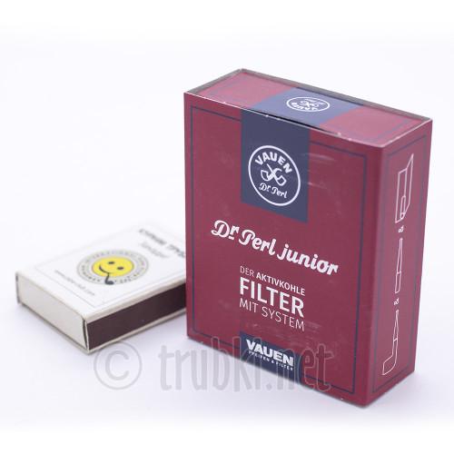 Vauen Dr.Perl Junior - 40. Фильтр угольный 9мм. 40 штук