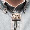 Американские галстуки Боло из бронзы