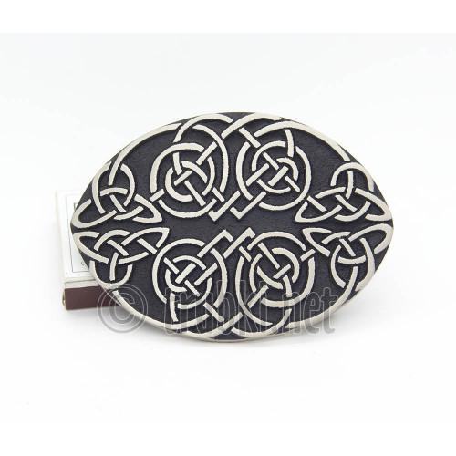 Кельтский узел. Бронзовая пряжка для пояса