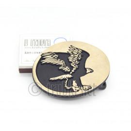 Взлетающий орёл. Бронзовая пряжка для пояса