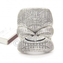 Гавайская маска. Пряжка ременная