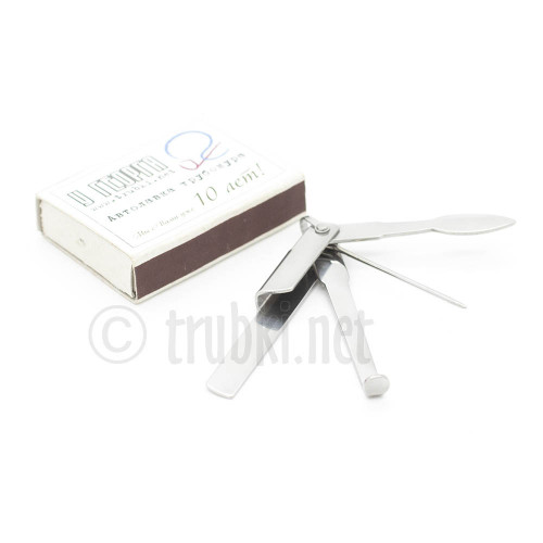Tsuge маленький складной тройник для кисеру
