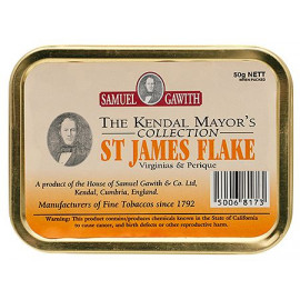 2011 Samuel Gawiths St James Flake 50g.
