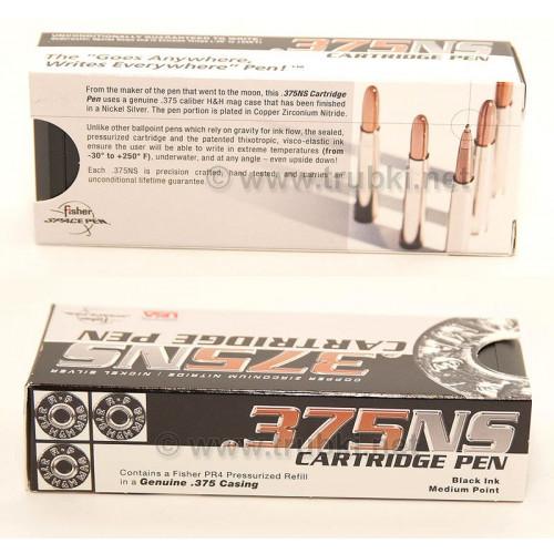 375NS - Cartridge Space Pen. Никелированный патрон-ручка