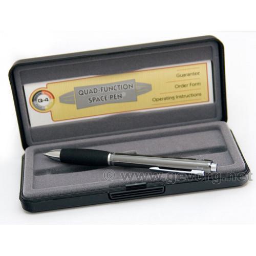 Q4 Multi-Action Space Pen. Ручка карандаш. Четыре в одном