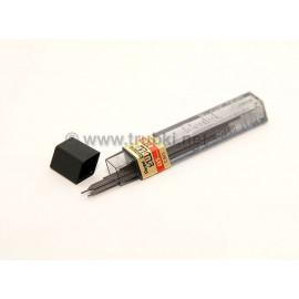 Запасные грифели для карандашей. Pentel Hi-Polimer 0.5мм, HB, 12 шт.