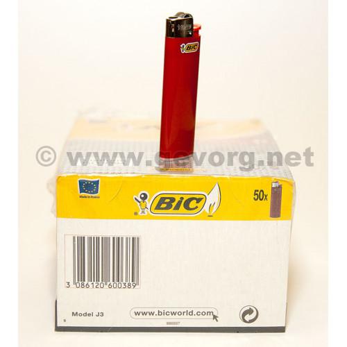 Зажигалка одноразовая BIC Slim J3, Франция