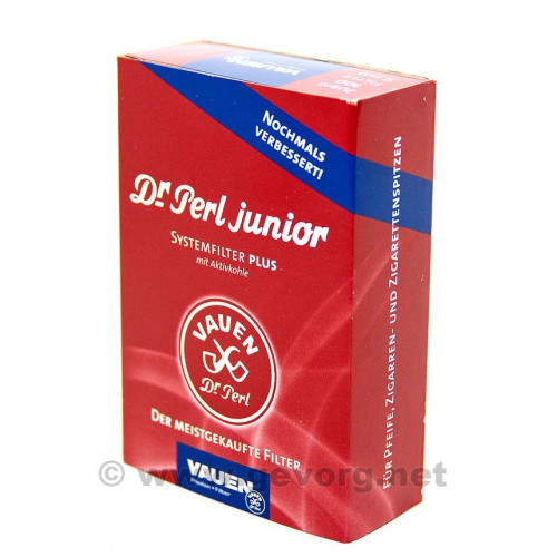 Vauen Dr.Perl Junior - 100. Фильтр угольный 9мм. 100 штук