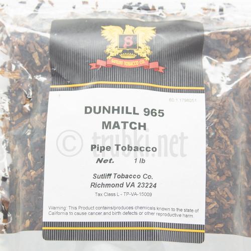 Dunhill My Mixture 965 Match