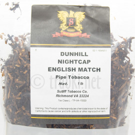 Dunhill Nightcap English Match