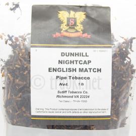 Dunhill Nightcap English Match
