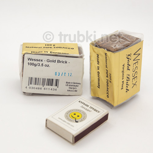 2012 Wessex Gold Brick 3.5 oz / 100g Aged pipe tobacco