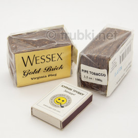 2012 Wessex Gold Brick 3.5 oz / 100g Virginia Plug