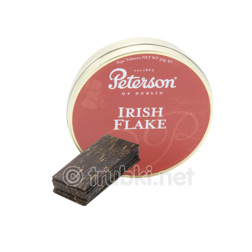 Peterson Irish Flake (50г) - баночный трубочный табак из Ирландии
