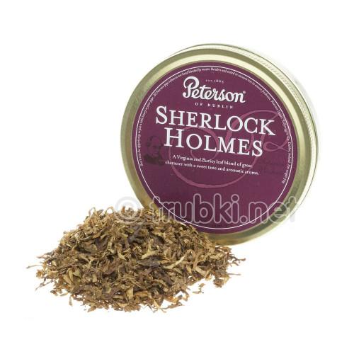 Peterson Sherlock Holmes (50г) - баночный трубочный табак из Ирландии