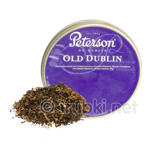 Peterson Old Dublin (50г) - баночный трубочный табак из Ирландии