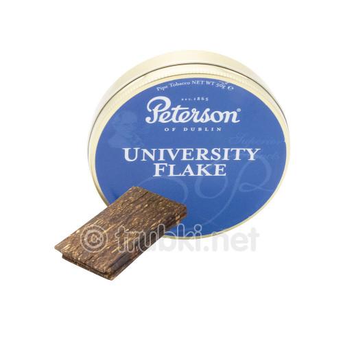 Peterson University Flake (50г) - баночный трубочный табак из Ирландии